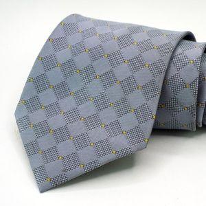"Hugo Boss 100% Silk Neck Tie 3.5"" Width Gray"